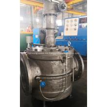 Válvula de tapón DBB de acero fundido