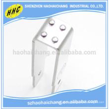 Metal de alta precisión que sella el soporte ajustable del ángulo estañado
