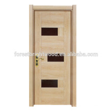 Популярные Простой Стиль Дешевые Межкомнатные Меламина Деревянная Дверь