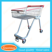 shopping hand cart with logo printed