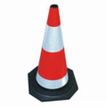 Reflective Road Triangle Traffic Cone