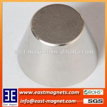 custom platform-type/big cone shape neodymiun magnet