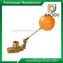 DN15 DN20 DN25 1/2 '' 3/4 '' 1 '' 1.6MPA superfície em bruto (opcional) uso para o gás de óleo de água Válvula de esfera flutuante com plástico