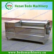 Machines de nettoyage et d'épluchage de pomme de terre de rouleau de brosse et machines de coupe de pelage de pomme de terre