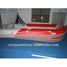 Bateau a moteur grande vitesse gonflable marine 430