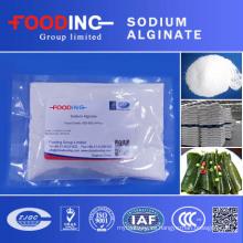 Alginato de sodio de alta calidad Grado de alimentos Precio de fábrica