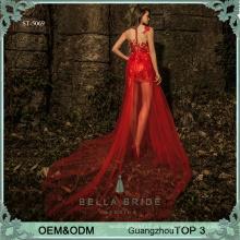 Guangzhou fabrica vestido de noite com vestido mais recente vestido vestido de mulher para senhoras