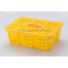 molde de inyección de alta calidad productos para el hogar plástico de la fruta cesta de naranja utilizado