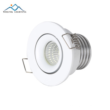 Top quality CE RoHS control dimmable mini 3w led cob downlight