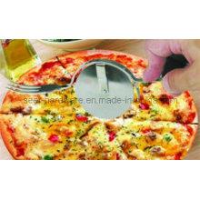 Cortador de la rueda de la pizza del acero inoxidable, tenedor de la pizza (se1103)