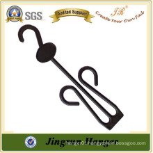 Alibaba China Manufacture Supply Black Plastic Hanger for Slippers