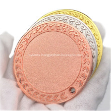 Wholesale Zinc Alloy Engraving Sport Blank Medal
