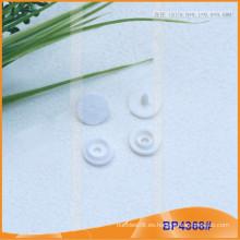 Botón de presión de plástico para capa de lluvia, ropa de bebé o papelería BP4368