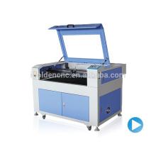 Chine moins cher 6090 co2 timberland bottes machine de découpe laser