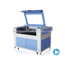 China cheaper 6090 co2 timberland boots laser cutting machine