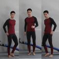T-shirt à manches longues en bambou pour hommes