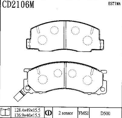 CD2106M
