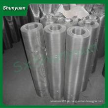 China Shunyuan empresa 304 tela de mosca de aço inoxidável para janelas e portas