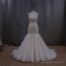 Delicate fishtail gown iridescent oriental guangzhou wedding dress