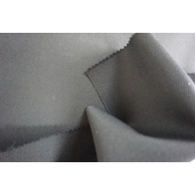 Satin Weave Wool Fabric Black