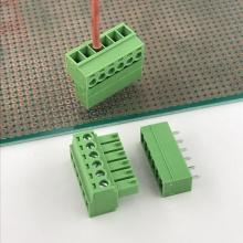 Bloque de terminales de 6 vías PCB de paso de 3,5 mm