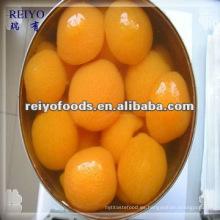 Frutas enlatadas - albaricoque en almíbar ligero