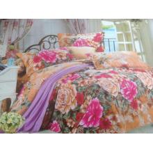 Tecido escovado de poliéster para roupa de cama
