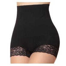Hot Sale High Waist Women Nylon Lace Slimming Bodyshaper Underwear