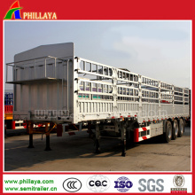 3 Achsen 60 Tonnen Schwanenhals Cargo Transport Semi Trailer