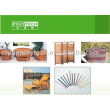 Plastic rattan plastic machine
