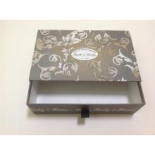Caixa de gaveta com alça de fita / caixa de gaveta de papel com alça