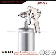 Arma de pulverizador de alta pressão W77S da arma de pulverizador do revestimento da mobília