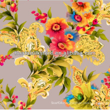 Wholesale Chinese Pure Silk Digital Printed Fabric
