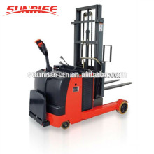 Chariot élévateur à batterie assis atteindre chariot élévateur à fourche camion élévateur à fourche électrique