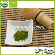 Polvo orgánico certificado en polvo del té verde