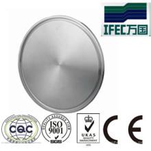 Tapa de acero inoxidable de acero inoxidable sólido (IFEC-EC100001)
