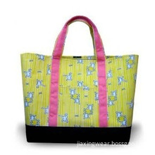 Nylon Tote Bag with Environmentally Friendly, Ideal for Shopping, Gift Packaging