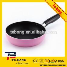Aluminium cooking pot aluminium stock pot soft silicon painting handles stock pot