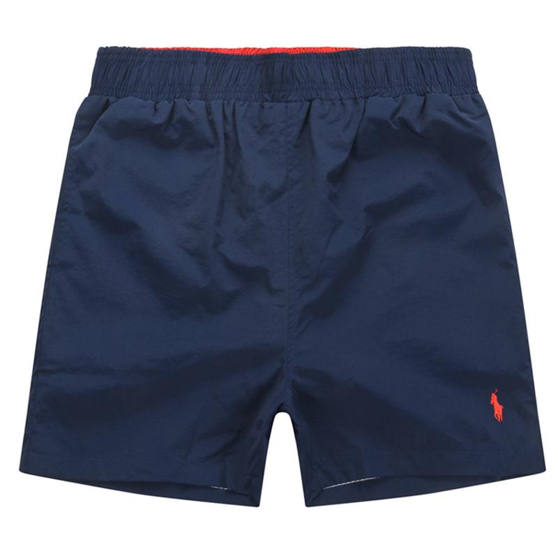 Beach Shorts With Elastic Waist