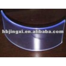 Feuille flexible de PVC transparent
