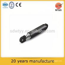 Cylindre hydraulique télescopique de haute qualité pour les types d'utilisations