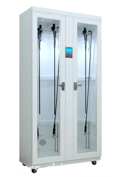 Medical vertical storage cabinet