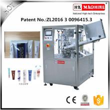 Máquina de llenado y sellado de tubos de pasta de dientes de alta precisión cosmética crema cosmética loción crema con CE