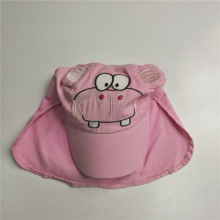 Kids Cute Cotton Sun Flap Cap