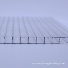 Folha de policarbonato geral com alto isolamento térmico
