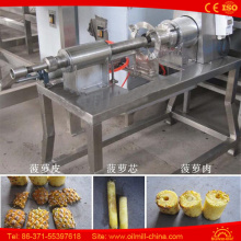 Automatic Fruit Peeling Machine Pineapple Decore Peeler