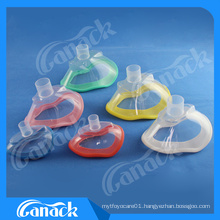 1 Disposable Medical PVC Anesthesia Mask with Check Valve