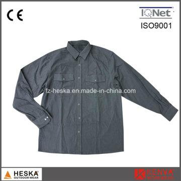 Résistant à l'usure confortable en coton longue chemise de travail