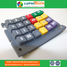 LUPHITOUCH Calculator Colorfull SIlicone Rubber Keypad