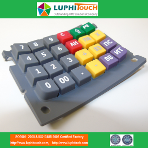 LUPHITOUCH Calculatrice Colorfull SIlicone Rubber Keypad